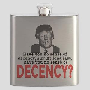 TRUMP NO Sense of Decency Flask