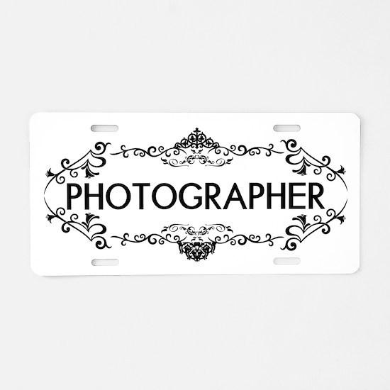 Wedding Series: Photography Aluminum License Plate