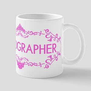 Wedding Series: Photography (Pink) Mug