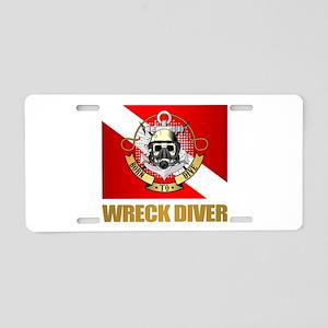 Wreck Diver (BDT) Aluminum License Plate