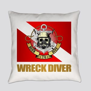 Wreck Diver (BDT) Everyday Pillow