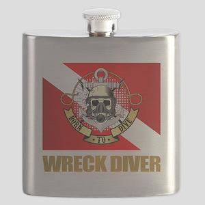 Wreck Diver (BDT) Flask
