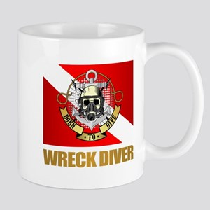 Wreck Diver (BDT) Mugs