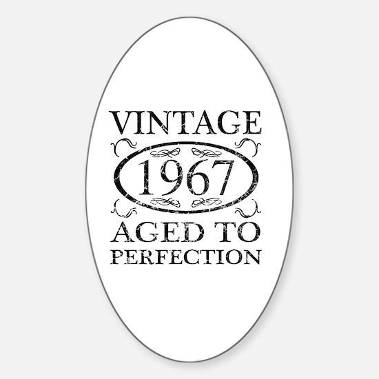 Cool 1967 Sticker (Oval)