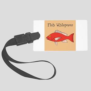 FISH WHISPERER Luggage Tag