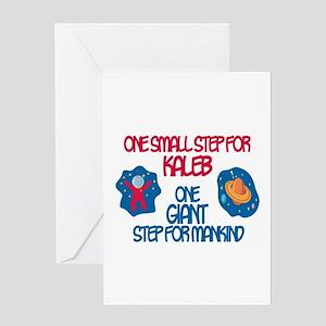 Kaleb - Astronaut Greeting Card