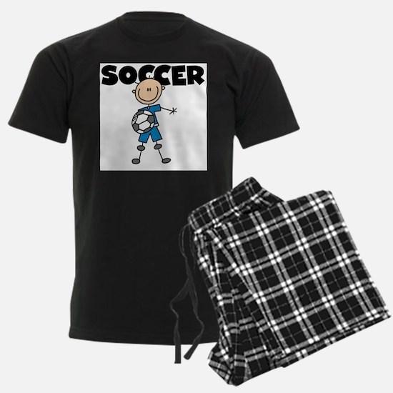 SOCCER Stick Figure Pajamas