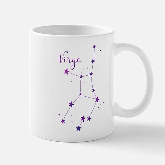 Virgo Zodiac Constellation Mugs