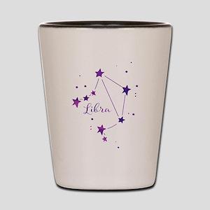 Libra Zodiac Constellation Shot Glass