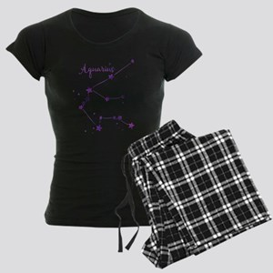 Aquarius Zodiac Constellation Pajamas