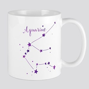 Aquarius Zodiac Constellation Mugs