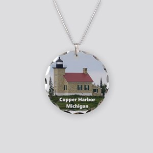 Copper Harbor Lighthouse Necklace