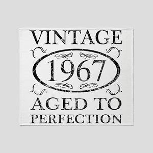 Vintage 1967 Throw Blanket