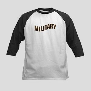 MILITARY Kids Baseball Jersey