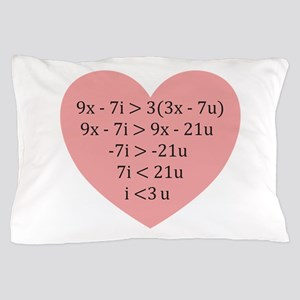 Equation of Love Pillow Case