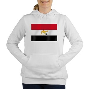 Egyptian Camel Flag Women's Hooded Sweatshirt
