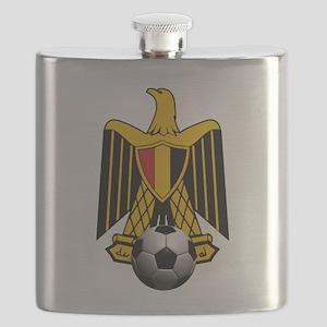 Egyptian Football Eagle Flask