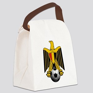 Egyptian Football Eagle Canvas Lunch Bag
