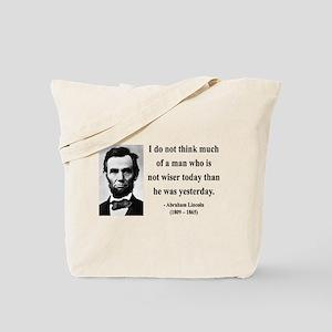 Abraham Lincoln 33 Tote Bag