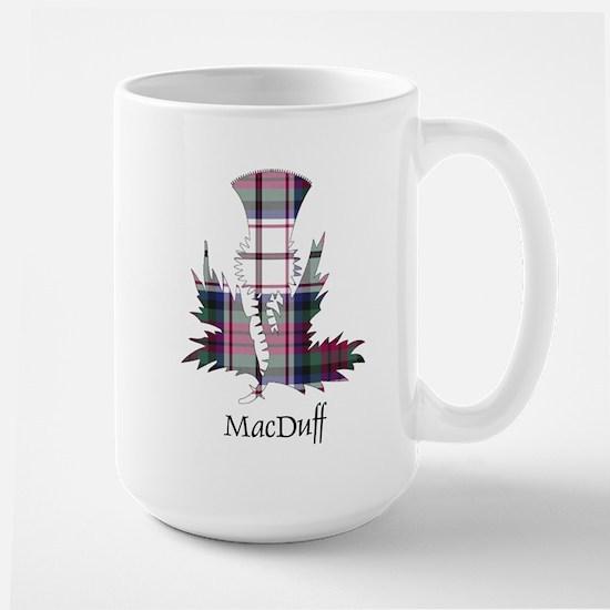 Thistle-MacDuff dress Large Mug