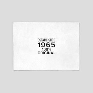 Established 1965 5'x7'Area Rug