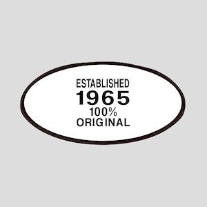 Established 1965 Patch