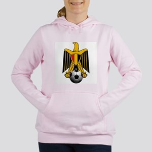 Egyptian Football Eagle Women's Hooded Sweatshirt
