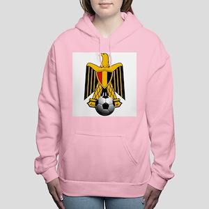 Egyptian Football Eagle Women's Hooded Sweatshirt