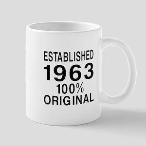 Established 1963 Mug