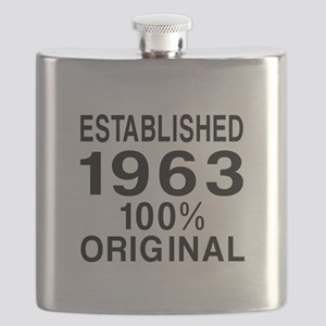 Established 1963 Flask