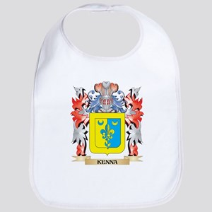 Kenna Coat of Arms - Family Crest Baby Bib