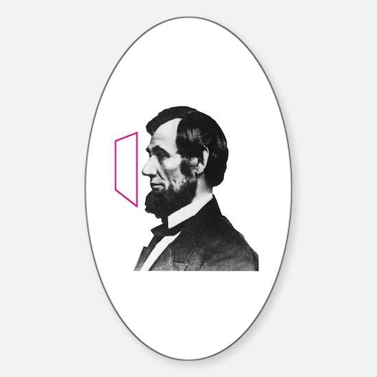 Cool Obama retro Sticker (Oval)