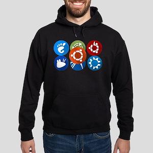 ubuntu distros Sweatshirt