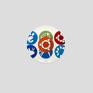 ubuntu distros Mini Button