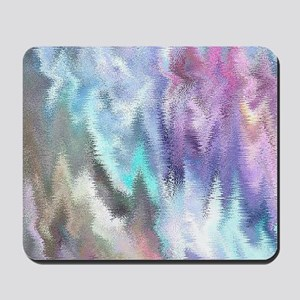 Vibrating Glitch Pastels Mousepad