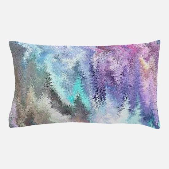 Vibrating Glitch Pastels Pillow Case