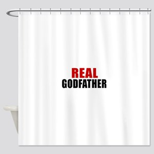 Real Godfather Shower Curtain