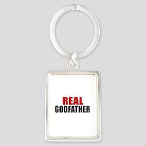 Real Godfather Portrait Keychain