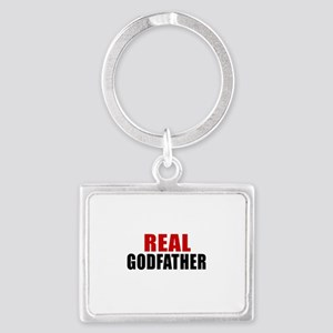 Real Godfather Landscape Keychain