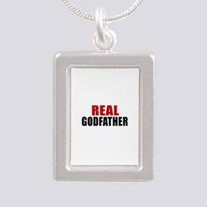 Real Godfather Silver Portrait Necklace