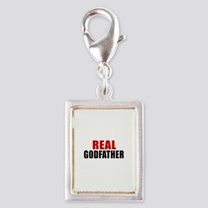 Real Godfather Silver Portrait Charm