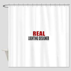 Real Lighting designer Shower Curtain
