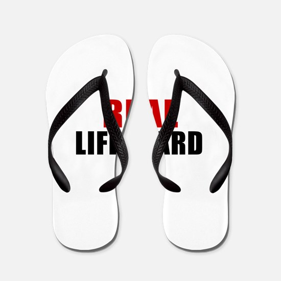 Real Lifeguard Flip Flops