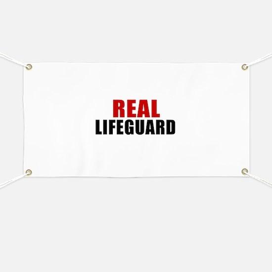 Real Lifeguard Banner