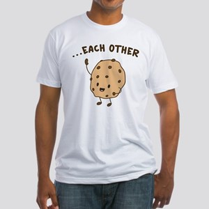 Made For Each Other Fitted T-Shirt