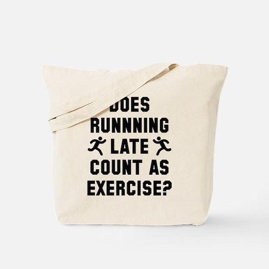 Running Late Tote Bag