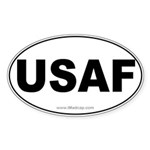 USAF Car Oval Sticker