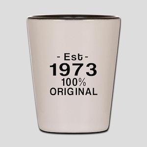 Est.Since 1973 Shot Glass