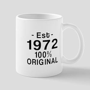 Est.Since 1972 Mug