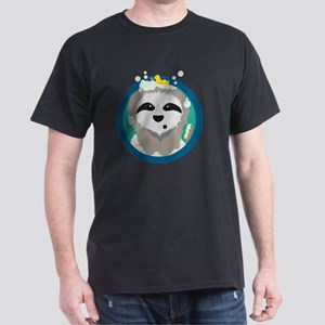 Bathing Sloth with bubbles T-Shirt